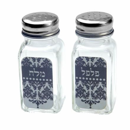 מלח פלפל - עיטור אפור