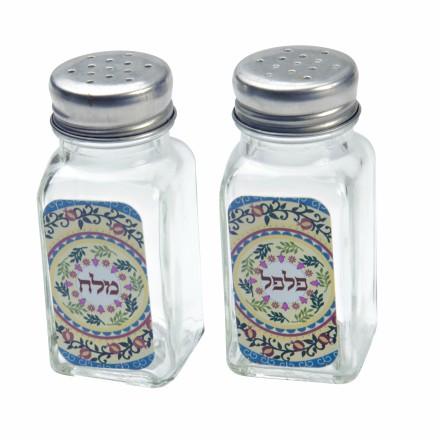 מלח פלפל - מנדלה צבעונית